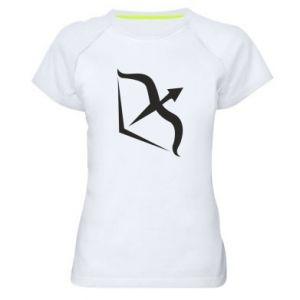 Damska koszulka sportowa Sagittarius - PrintSalon