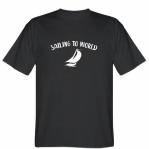 T-shirt Sailing to world