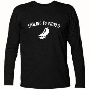 Koszulka z długim rękawem Sailing to world
