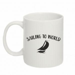 Kubek 330ml Sailing to world