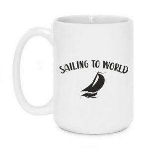 Kubek 450ml Sailing to world