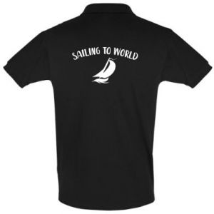 Koszulka Polo Sailing to world