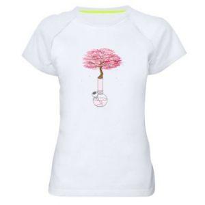 Women's sports t-shirt Sakura