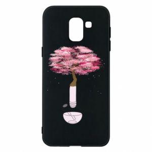 Phone case for Samsung J6 Sakura