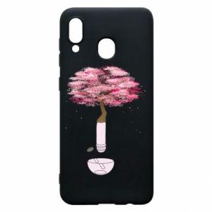 Phone case for Samsung A20 Sakura