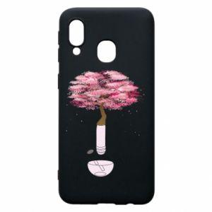 Phone case for Samsung A40 Sakura