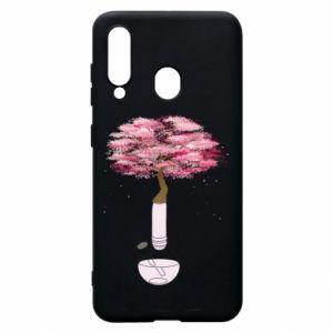 Phone case for Samsung A60 Sakura