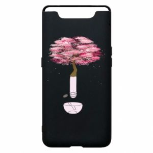 Phone case for Samsung A80 Sakura
