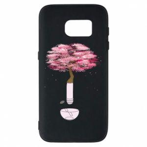 Phone case for Samsung S7 Sakura