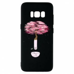 Phone case for Samsung S8 Sakura
