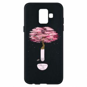 Phone case for Samsung A6 2018 Sakura