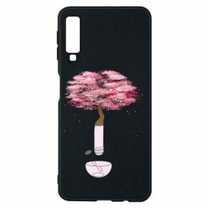 Phone case for Samsung A7 2018 Sakura