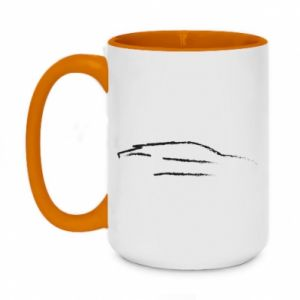 Two-toned mug 450ml Race car