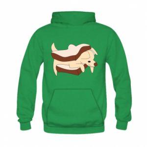Bluza z kapturem dziecięca Sandwich dog