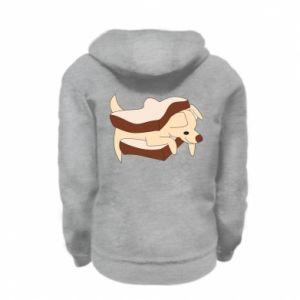 Bluza na zamek dziecięca Sandwich dog