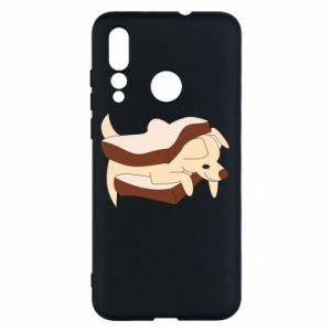 Etui na Huawei Nova 4 Sandwich dog