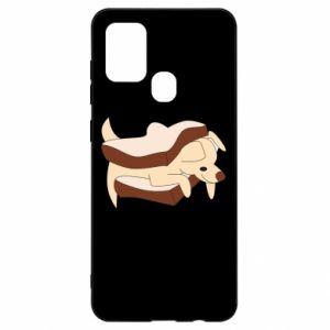 Etui na Samsung A21s Sandwich dog