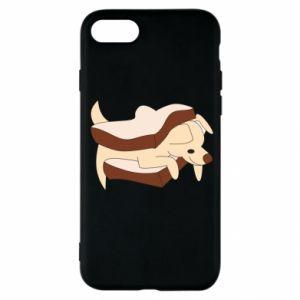 Etui na iPhone SE 2020 Sandwich dog