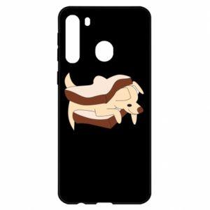 Etui na Samsung A21 Sandwich dog