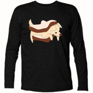 Koszulka z długim rękawem Sandwich dog
