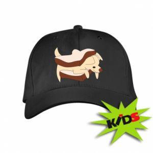 Dziecięca czapeczka z daszkiem Sandwich dog