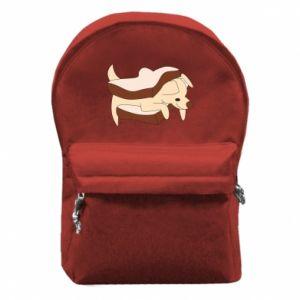 Plecak z przednią kieszenią Sandwich dog