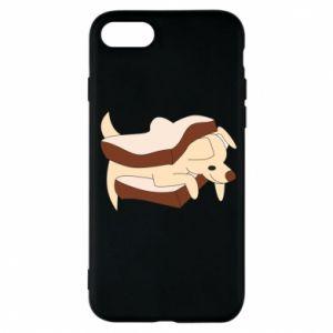 Etui na iPhone 7 Sandwich dog