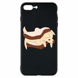 Etui na iPhone 7 Plus Sandwich dog