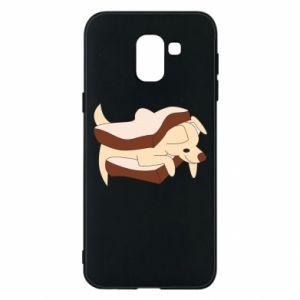 Etui na Samsung J6 Sandwich dog