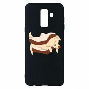 Etui na Samsung A6+ 2018 Sandwich dog