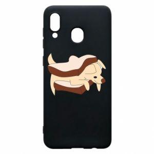 Etui na Samsung A20 Sandwich dog