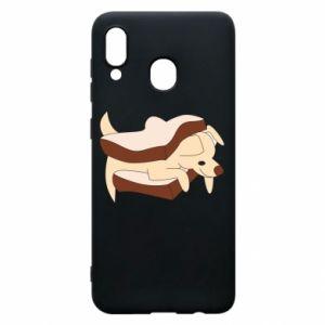 Etui na Samsung A30 Sandwich dog
