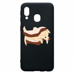 Etui na Samsung A40 Sandwich dog