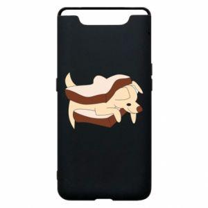 Etui na Samsung A80 Sandwich dog