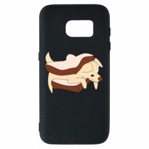 Etui na Samsung S7 Sandwich dog