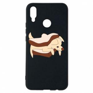 Etui na Huawei P Smart Plus Sandwich dog