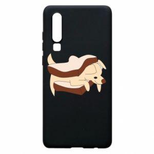 Etui na Huawei P30 Sandwich dog