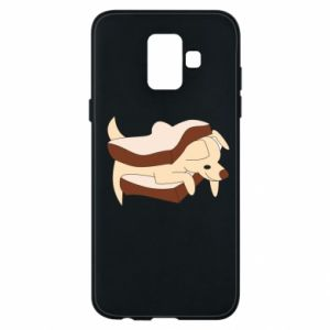 Etui na Samsung A6 2018 Sandwich dog