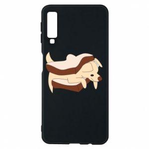 Etui na Samsung A7 2018 Sandwich dog
