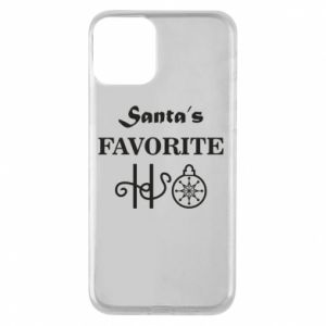Phone case for iPhone 11 Santa's favorite HO