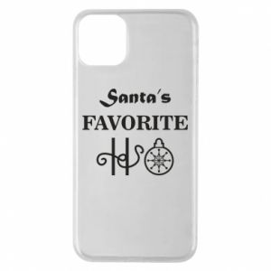 Phone case for iPhone 11 Pro Max Santa's favorite HO