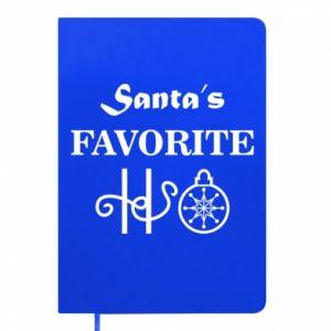 Notepad Santa's favorite HO