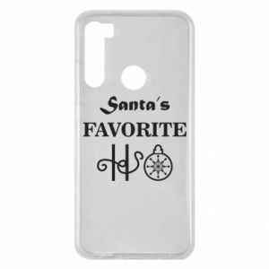 Etui na Xiaomi Redmi Note 8 Santa's favorite HO