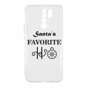 Etui na Xiaomi Redmi 9 Santa's favorite HO