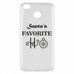 Etui na Xiaomi Redmi 4X Santa's favorite HO