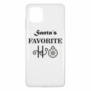 Etui na Samsung Note 10 Lite Santa's favorite HO