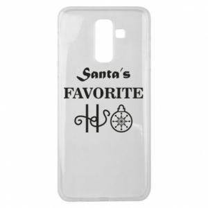 Etui na Samsung J8 2018 Santa's favorite HO