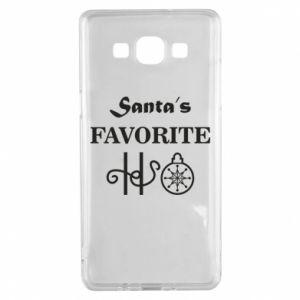 Etui na Samsung A5 2015 Santa's favorite HO