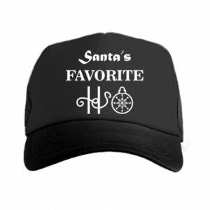 Czapka trucker Santa's favorite HO