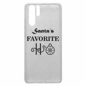 Etui na Huawei P30 Pro Santa's favorite HO